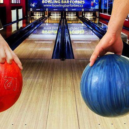 Bowling na 1 nebo 2 hodiny až pro 6 os.