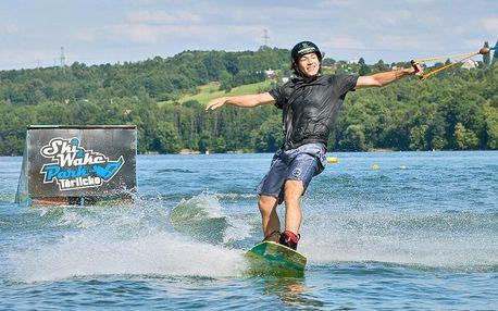 Wakeboarding či lyže na 1 či 2 hod. nebo 30 jízd