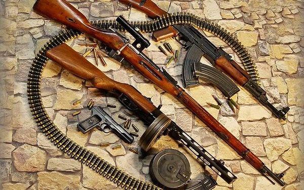 Armádní zbraně SSSR