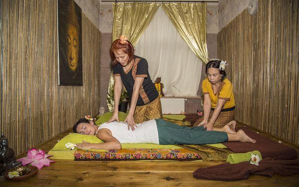 Tradiční thajská masáž zad, 30 minut2
