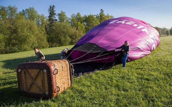 Let balónem nad Českým Krumlovem, Český Krumlov, 1 osoba, 1 hodina4