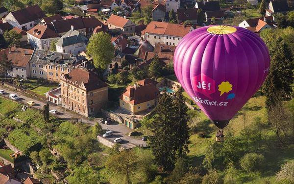 Let balónem nad Českým Krumlovem, Český Krumlov, 1 osoba, 1 hodina5