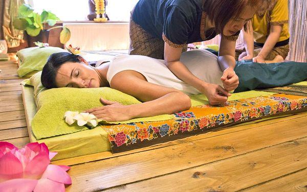 Tradiční thajská masáž zad, 30 minut5