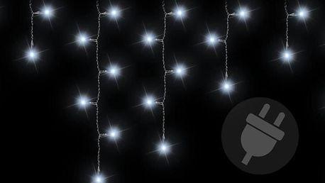 Nexos 1160 Vánoční světelný déšť 144 LED studená bílá - 5 m