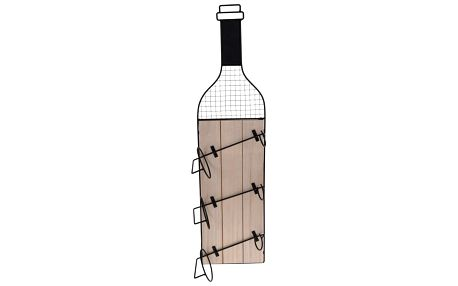 Stojan na zavěšení na 3 láhve vína