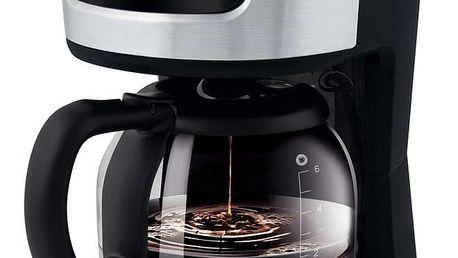 SCE 3700BK kávovar, nerez