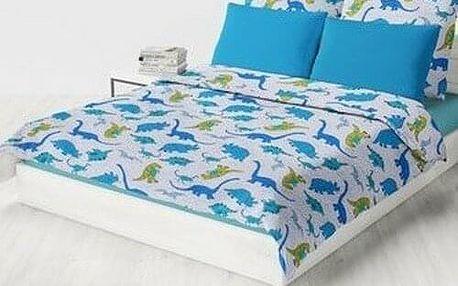 Domarex Dětský přehoz na postel DINO, 150 x 200 cm