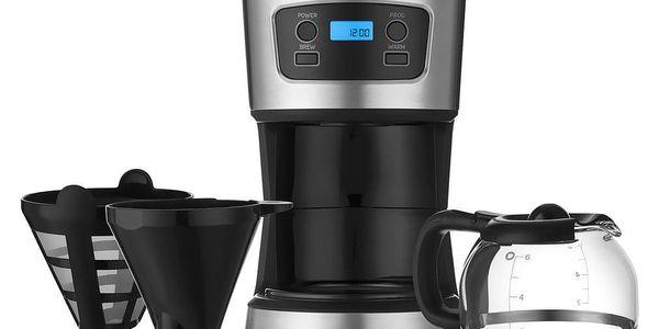 Sencor SCE 3700BK kávovar, nerez4