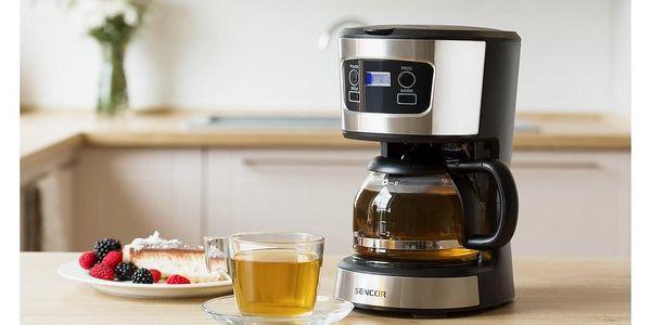 Sencor SCE 3700BK kávovar, nerez5