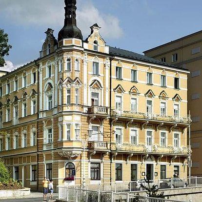 Česká republika, Mariánské Lázně, vlastní dopravou na 8 dní polopenze