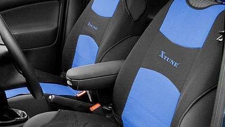 Autopotah Compass TRIKO přední 2ks modrý