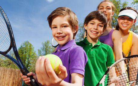 Aktivní dovolená s dětmi a tenisovým táborem