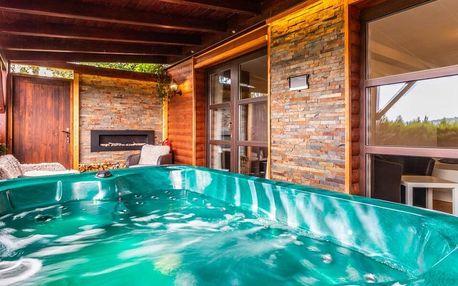 Zahradní apartmán s privátním wellness a polopenzí
