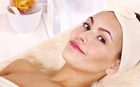 Kosmetické ošetření pleti i masáž obličeje a krku