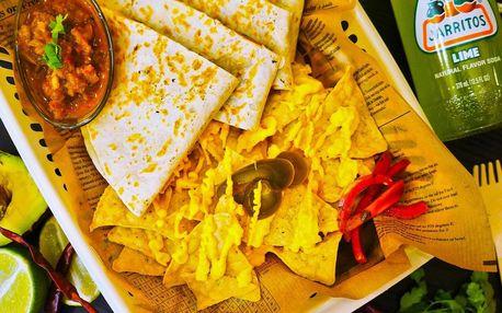 Mexické mňamky: burritos, tacos nebo quesadilla