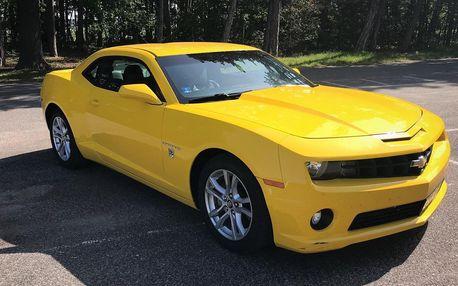 Spolujízda, řízení i zapůjčení Chevroletu Camaro
