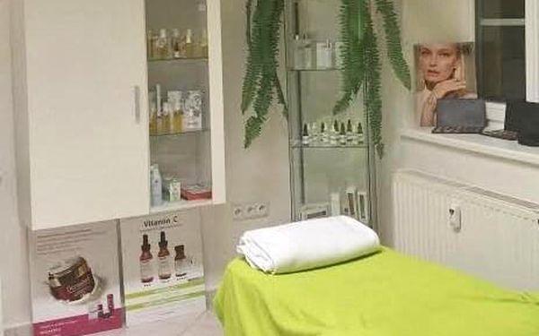 Kosmetické ošetření a hodinová masáž2