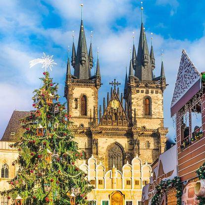 Zimní Praha v nádherném secesním hotelu - dlouhá platnost poukazu