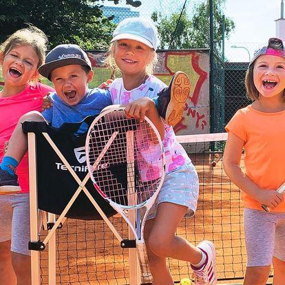 Letní příměstský tábor s tenisem pro děti 4–15 let