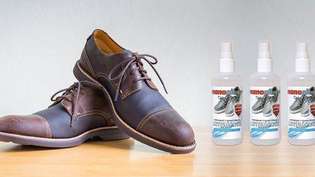 Stop zápachu: sprej do bot s nanostříbrem
