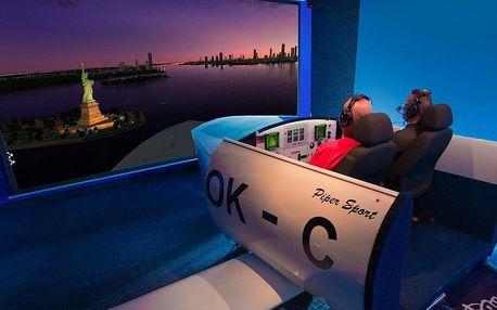 30 nebo 60 min. pilotování na leteckém simulátoru