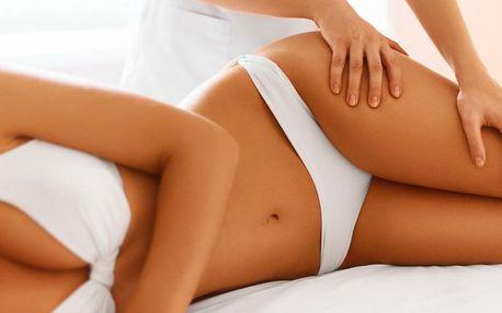 Manuální lymfatická masáž obličeje nebo těla