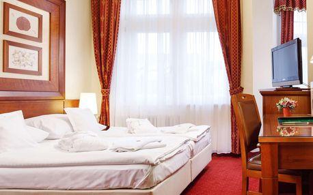 Ozdravný pobyt v Karlových Varech s wellness a lázeňskými procedurami dle variant