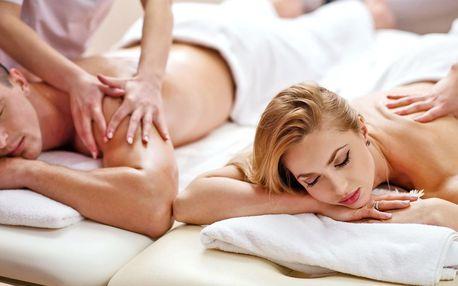 Párová thajská masáž dle výběru na 60–120 minut
