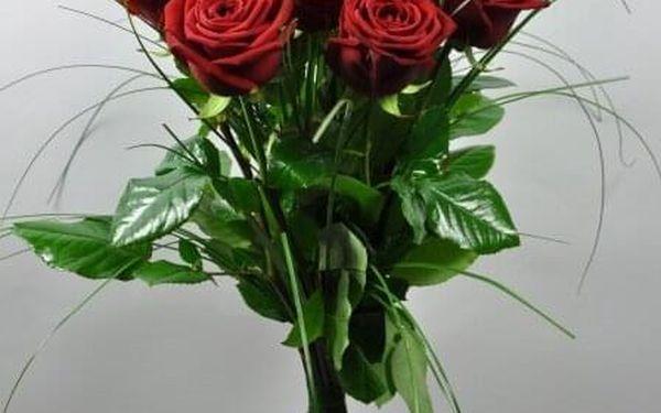 9 růží, 60 cm4