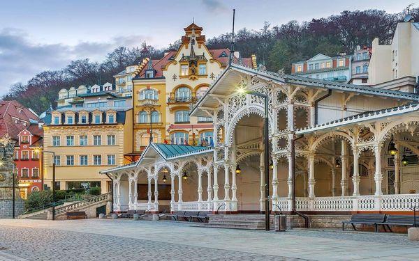 Spa Hotel Panorama v Karlových Varech s lázeňskými procedurami a snídaní