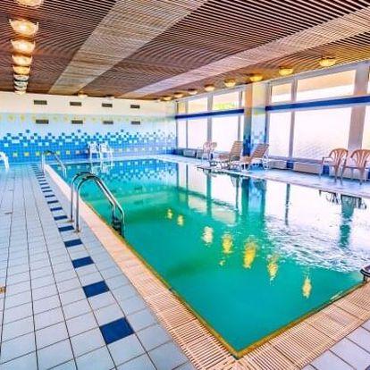 Luhačovice: Hotel Harmonie *** s lázeňskými procedurami, bazénem a all inclusive stravou a nápoji