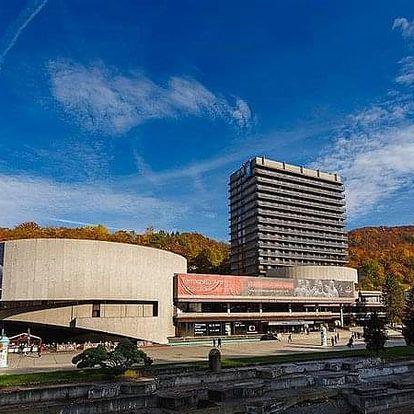 Karlovy Vary na 8 dnů, polopenze