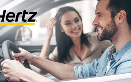 50% sleva na víkendové půjčení auta od Hertz