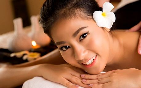 Thajská masáž zad a šíje v délce 30 či 60 minut