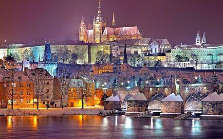Pohádkový zimní pobyt v Praze v nově zrekonstruovaném hotelu - dlouhá platnost poukazu