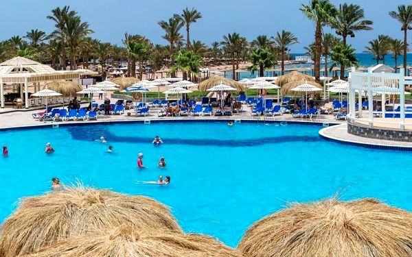MIRAGE BAY, Hurghada, letecky, all inclusive2