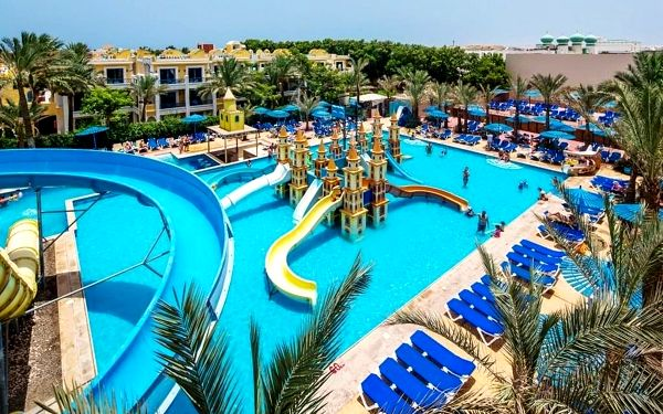 MIRAGE BAY, Hurghada, letecky, all inclusive
