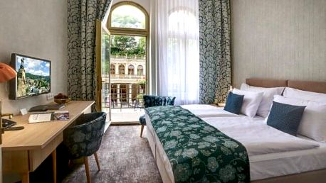 Karlovy Vary: ASTORIA Hotel & Medical Spa **** s bazénem, saunami, až 8 procedurami a polopenzí + dítě zdarma