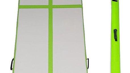 Airtrack MASTERJUMP nafukovací žíněnka 300 x 100 x 20 cm - zelená