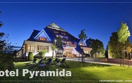 Západočeské lázně: Lázeňský hotel Pyramida