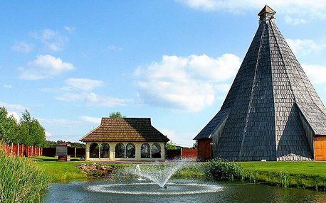 Pobyt v resortu Vigvam u Kolína: wellness a jídlo
