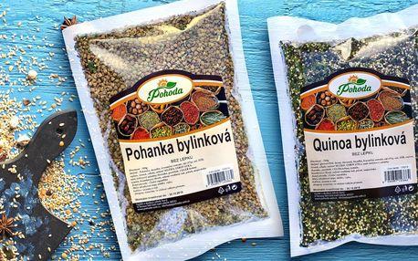 Rychlý oběd: ochucená quinoa, kroupy a pohanka