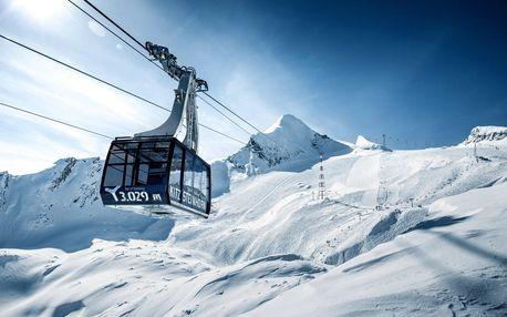 Jednodenní lyžování Kaprun – ledovec | Termíny červen, červenec, září, říjen 2020