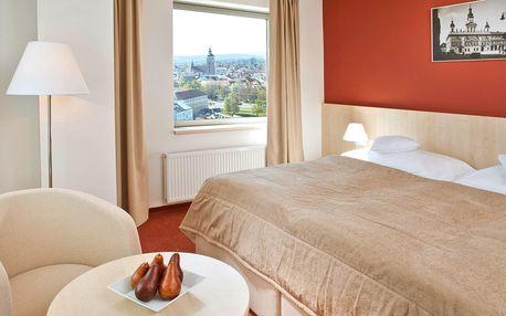 4* pobyt se snídaní v centru Českých Budějovic