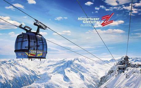 Jednodenní lyžování Hintertux – ledovec | Termíny červen, červenec, září, říjen 2020
