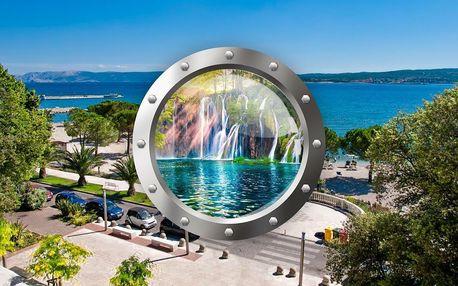 Zkrácená dovolená v Crikvenici a Plitvická jezera   2 noci se snídaní   5denní Chorvatsko