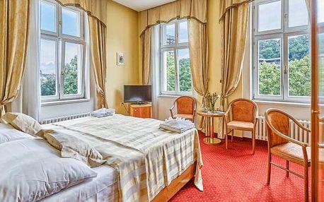 Karlovy Vary v Park Spa Hotelu Sirius **** až s 6 wellness procedurami, ovocím na pokoji a polopenzí