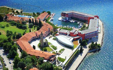 Slovinsko, Portorož | Hotel Vile Park*** | Dvě děti do 11,99 let zdarma | Soukromá pláž, vodní park v ceně | Polopenze