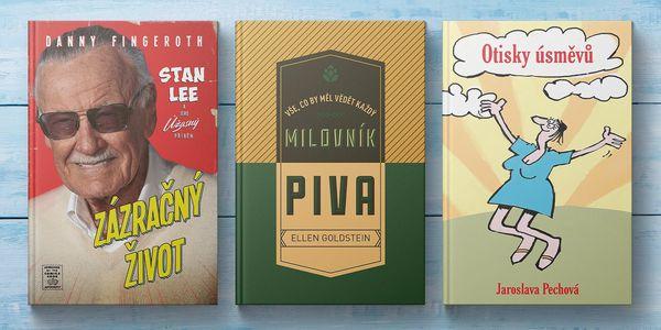 13 knih od Fenixe: humor, fantasy, drama i dětské