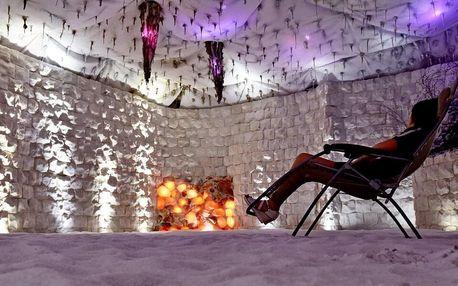 Noční pobyt v solné jeskyni pro děti i dospělé